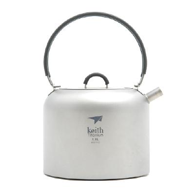 Keith純鈦 TI3907茶壺(1500ml)