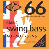 小叮噹的店 英國ROTOSOUND RS66LC (40-95) 電貝斯弦 不銹鋼 旋弦公司貨