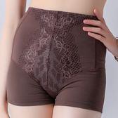 思薇爾-塑美波系列輕機能高腰短筒四角束褲(醇品褐)