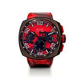 【NSQUARE】NICK CHRONO CAMO系列迷彩矽膠腕錶-豔紅款/G0369-N20.3/台灣總代理享兩年保固