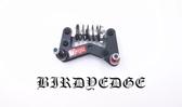 BIRDYEDGE 電動滑板改裝 八輪支架 配件 八輪支架 避震 支架 電動滑板改裝 街頭滑板改裝【迪特軍】