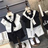 童裝男童夏裝套裝5歲小孩衣服短袖 東京衣櫃
