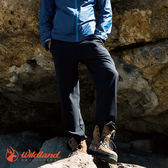 【WildLand荒野】0A52312男彈性輕薄防風防潑長褲 (M~2L) / 城市綠洲 (露營、戶外休閒、旅行)