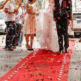 红地毯婚礼 麥達令結婚慶無紡布喜字一次性大紅地毯婚禮慶典場景布置迎賓^@^ 珍妮寶貝