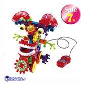 齒輪遊戲-魔力獸 LR學習資源 兒童幼兒教具玩具道具遊戲 想像創造建構造型組裝積木模型拼接