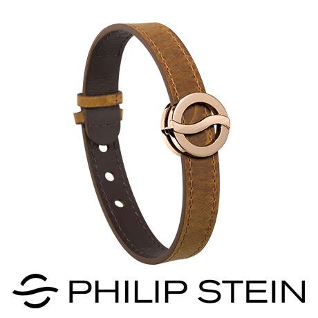 【Philip Stein】翡麗詩丹能量手環-【經典芥末】睡眠手環/運動手環