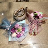 情人節禮物創意永生玫瑰花 仿真花 香皂花束 肥皂花 玫瑰花束【庫奇小舖】