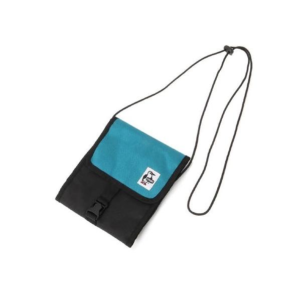 CHUMS Spruce Pocket Organizer 側背包 藍綠/魚子醬黑 CH602899T027【GO WILD】