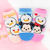 迪士尼TSUMTSUM系列直版親子襪 米奇米妮唐老鴨 短筒襪 短襪 童襪 卡通印花襪 成人襪