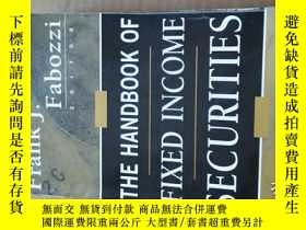 二手書博民逛書店The罕見Handbook of Fixed Income Se