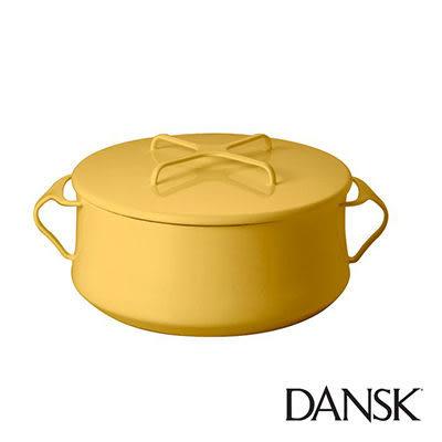 里和Riho Dansk Kobenstyle 雙耳砂鍋 4QT(黃)