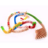 多米諾骨牌小學生成人兒童益智多諾米骨牌積木木制智力機關玩具  易貨居