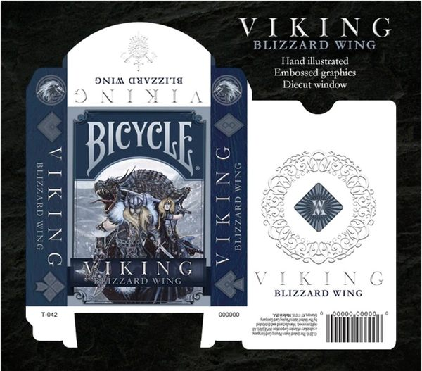 【USPCC撲克】Bicycle viking blizzard wing Playing Cards