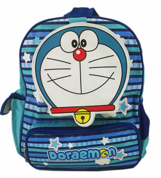 【卡漫城】 Doraemon 後背包 藍 大臉 約 34cm 高 ㊣版 護脊排汗 小叮噹 哆啦A夢 書包 兒童