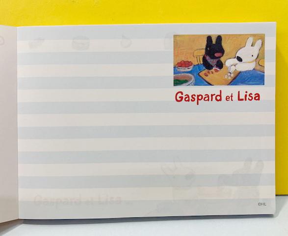 【震撼精品百貨】Gaspard et Lisa_麗莎和卡斯柏~便條紙-紅烘焙#95418