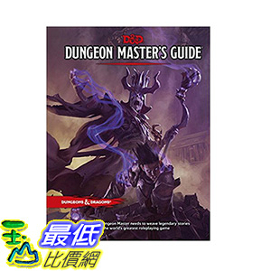[106美國直購] 2017美國暢銷書 Dungeon Master s Guide (D&D Core Rulebook)