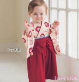 中大尺碼兒童和服 寶寶連體哈衣嬰兒連體衣日系秋季棉質衣服童裝爬爬服 DR9244