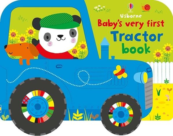 Baby's Very First Tractor Book 寶寶的第一本拖拉車書