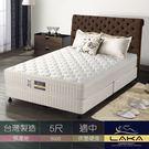 【LAKA】3M防潑水 三線蜂巢式獨立筒乳膠床墊(Free night系列)雙人5尺