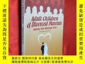 二手書博民逛書店Adult罕見Children of Divorced Pare