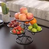 水果盤客廳創意家用果盤創意現代客廳茶幾多功能歐式簡約現代多層台北日光
