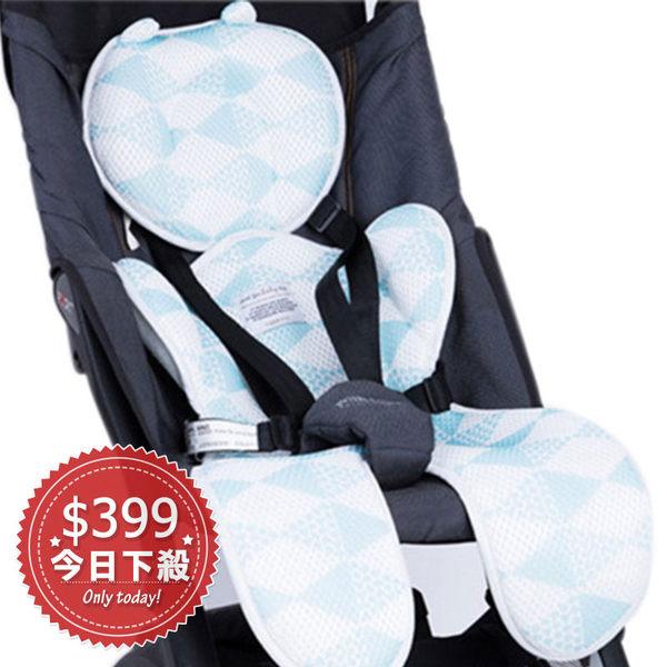 YODO XIUI 正品原廠授權【厚款】寶寶推車3D透氣涼蓆 現貨 雙層加厚車墊 安全座椅透氣坐墊 YUKAI