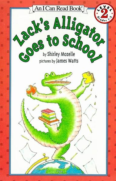 (二手書)An I Can Read Book Level 2: Zack's Alligator Goes to School
