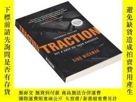 二手書博民逛書店掌控力罕見英文原版 Traction: Get a Grip on Your Business 用創業運作系統實現