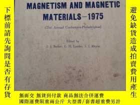 二手書博民逛書店magnetism罕見and magnetic material