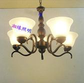 2裝燈地中海風格 調節玻璃燈罩