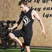健身套裝男運動跑步健身緊身速干衣