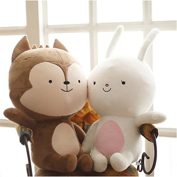 太陽的後裔 韓劇 抱枕 狼君娃娃/兔子(兩款可選)  宋慧喬 宋仲基【M010】