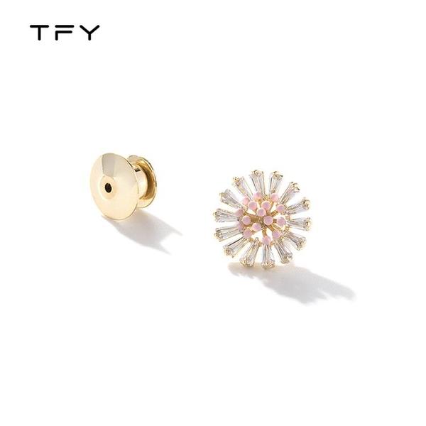tfy太陽花胸針女氣質優雅籿衫領口防走光扣夏季個性百搭胸花配飾
