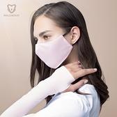 口罩 防曬口罩女防紫外線夏季薄款遮陽冰絲防塵透氣可清洗易呼吸-Ballet朵朵