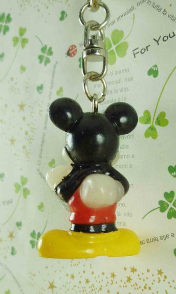 【震撼精品百貨】Micky Mouse_米奇/米妮 ~鑰匙圈-米奇站