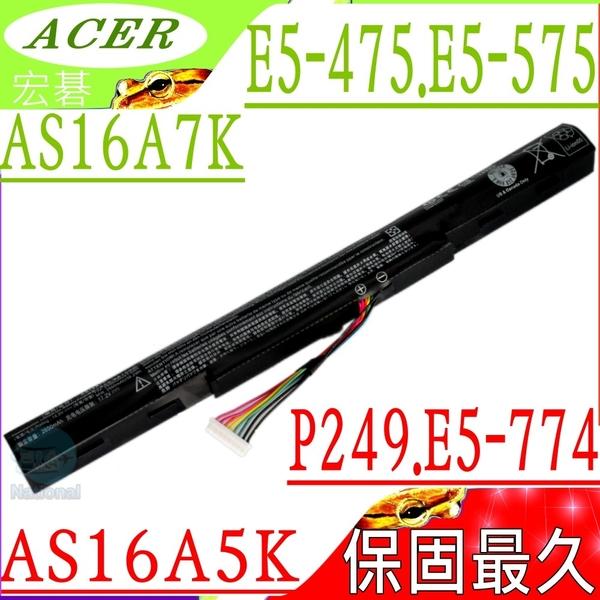ACER AS16A5K,AS16A7K 電池(保固最久)-宏碁 E5-575 ,E5-576,E5-774G,E5-575G-54TU,E5-774G-37ZB,E5-774G-518Y