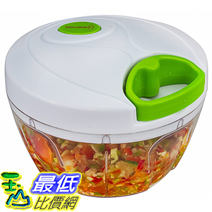 [美國直購] Brieftons 820103271745 Manual Food Chopper: Compact & Powerful Hand Held Vegetable 蔬果處理器