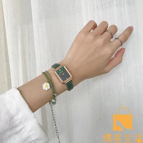 手錶輕奢小眾女簡約氣質時尚學生小清新小巧【慢客生活】