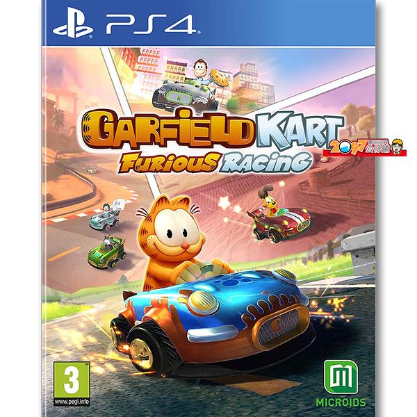 PS4 加菲貓 卡丁車 瘋狂競速 激情狂飆 -英文版- Garfield Kart Furious Racing