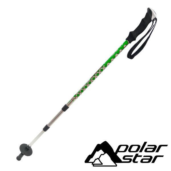 Polarstar 超輕量鋁合金避震登山杖 / 戶外 登山 健行 手杖- 綠色 P16767
