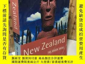 二手書博民逛書店The罕見Rough Guide to New Zealand (Rough Guide Travel Guide
