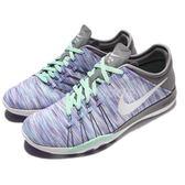 【五折特賣】Nike 訓練鞋 Wmns Free TR 6 AMP 紫綠白 赤足 女鞋 運動鞋 【PUMP306】 882819-500