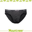 【Mountneer 山林 男 排汗三角內褲《黑色》】11K83-01/透氣內褲/排汗內褲/四角褲/三角褲