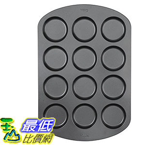 [106美國直購] Wilton 2105-0615 屋比派 烤盤 烤模 Nonstick 12-Cavity Whoopie Pie Pan