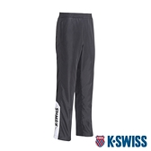 K-SWISS Panel Track Pants防風長褲-男-黑