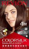 露華濃霓采護髮染髮乳-33紅深褐色