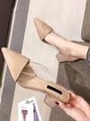 穆勒鞋包頭半拖鞋女外穿2020法式百搭時...