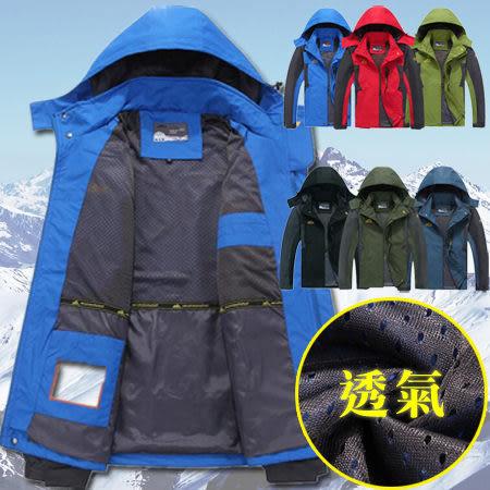 ※現貨 【超值單層】防風透氣耐磨衝鋒衣/外套 6色 XL-5XL碼【CP16028】