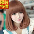 短假髮-可愛齊瀏海蓬鬆捲髮女美髮用品4色...