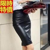 短皮裙-包臀OL修身顯瘦加絨氣質迷你裙66n27【巴黎精品】